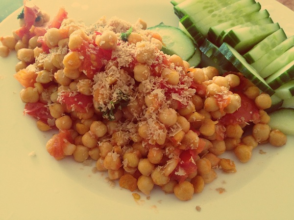 chickpeas meal