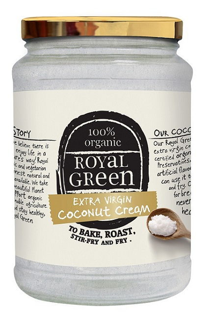 coconut oil royal green