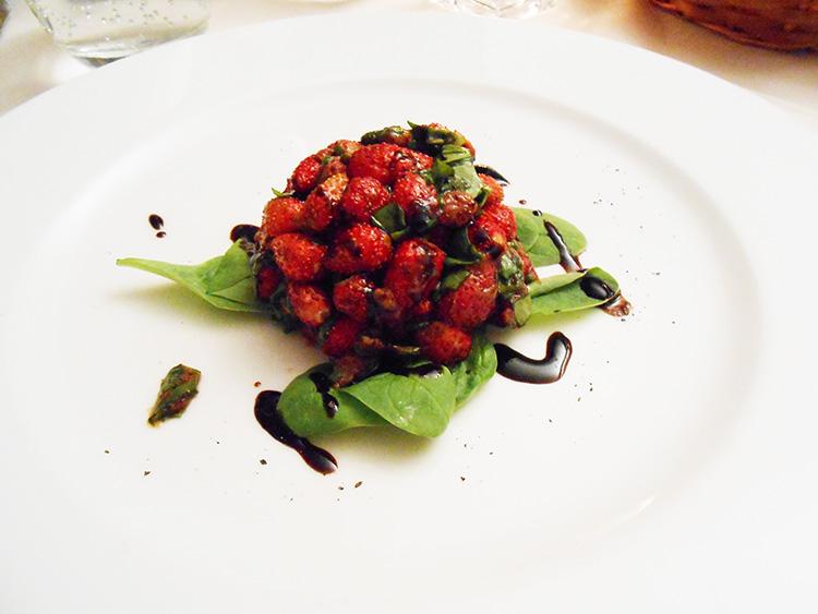 Margutta RistorArte strawberries