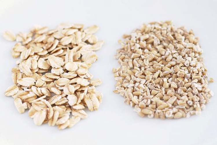 Quick Oats Vs Old Fashioned Oats In Granola