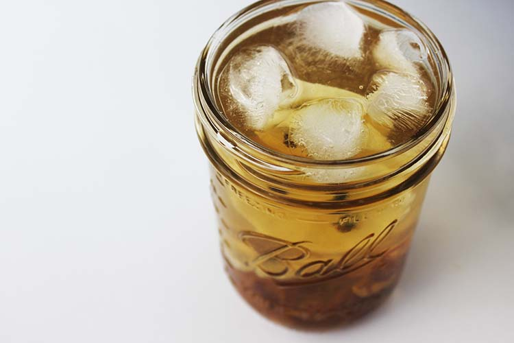 Iced Nettle Tea
