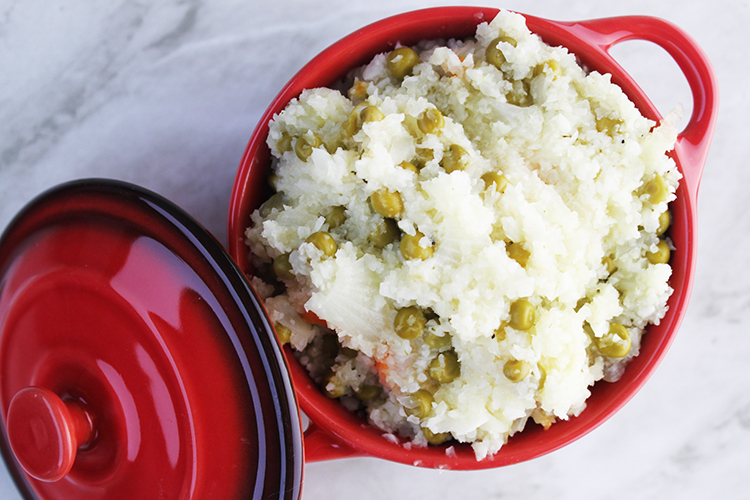 How To Make Cauliflower Rice /Couscous