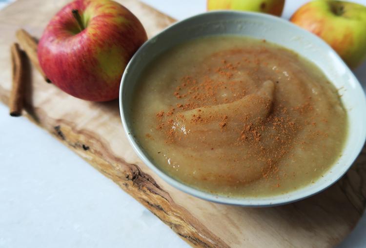 Healthy Homemade Applesauce