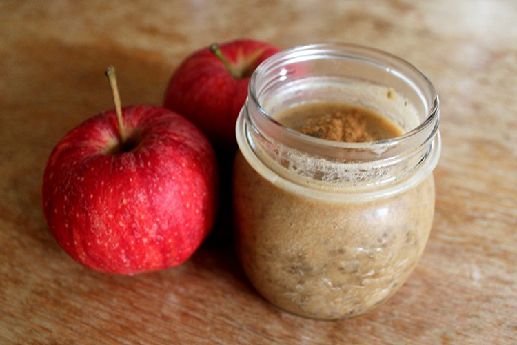 apple chia seed pudding