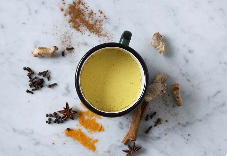 Golden Turmeric Milk and Trumeric Latte