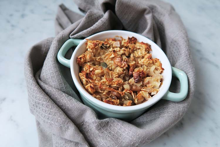 oatmeal Appel Crumble