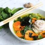 Miso Soba Noodle soup