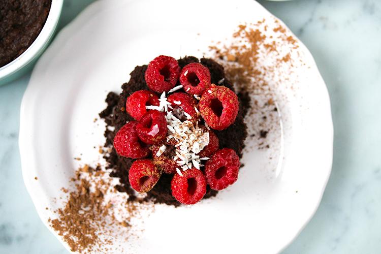 Easy Chocolate Mug Cake