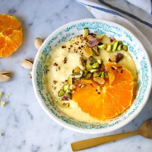 Creamy Orange Millet