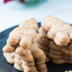 Gluten-Free Almond Butter Christmas cookies