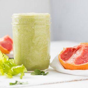 Green Grapefruit Smoothie