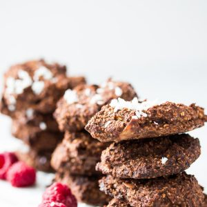 Raspberry Oats Cookies