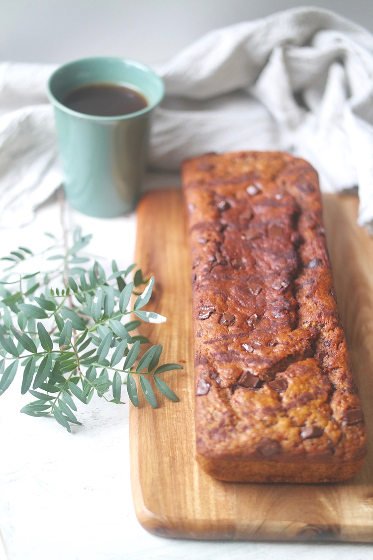 One-bowl Moist Chocolate Banana Bread