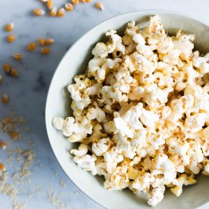 how to make oil free popcorn