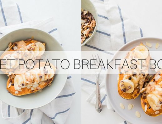 Sweet Potato Breakfast Boats