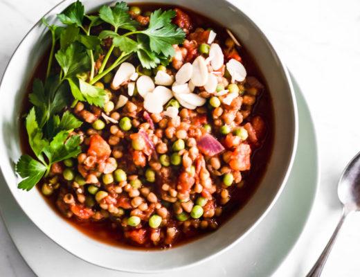 5-Minute Tomato Lentil Stew