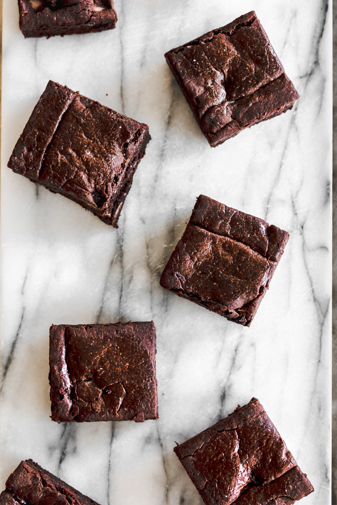 The Best Black Bean Brownies Oil Free Gluten Free Vegan