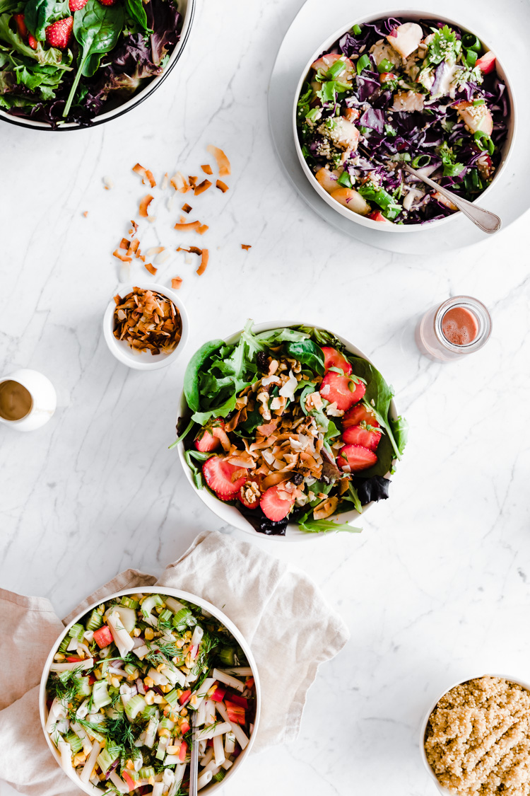 3 Summer Superfood Salads