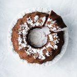 Vegan Sweet Potato Chocolate Bundt Cake