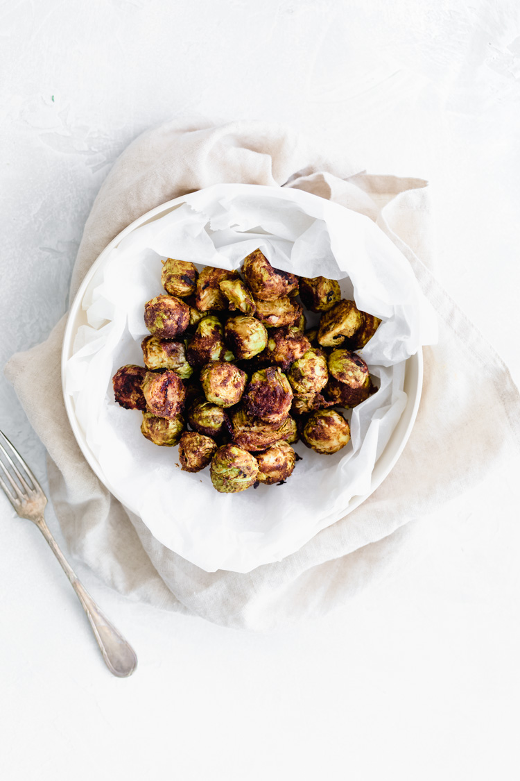 The Best Oil-Free Roasted Brussels Sprouts