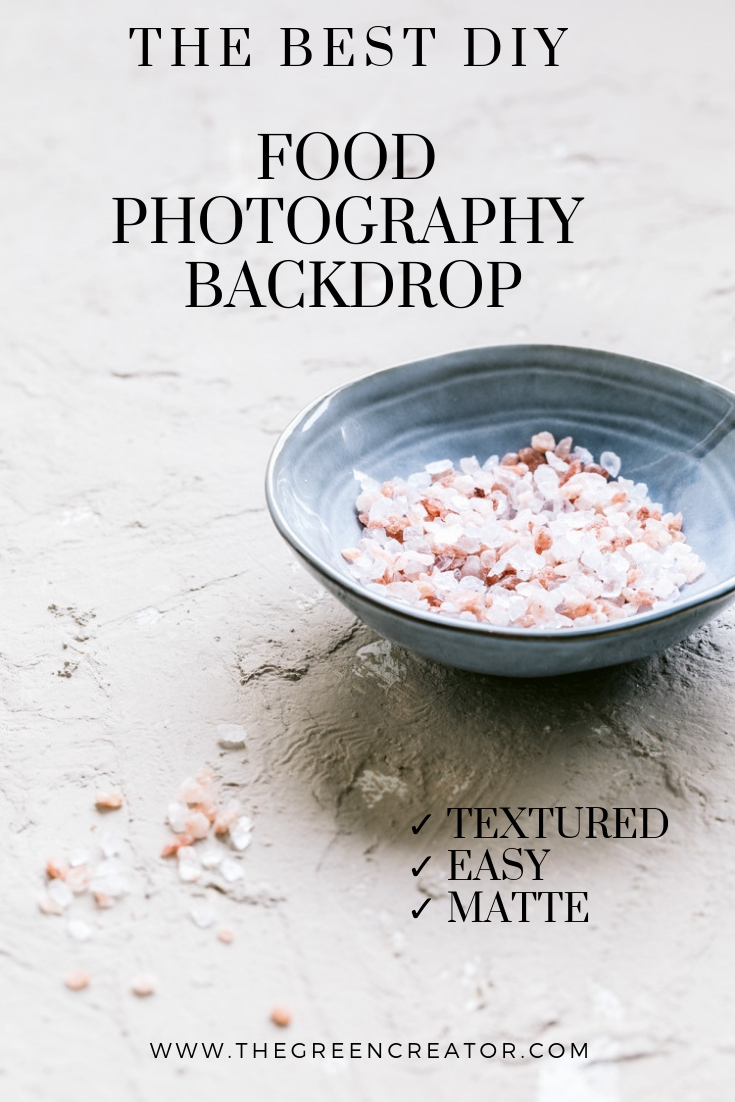 The Easiest DIY Food Photography Backdrop