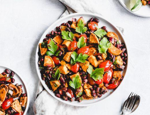 Sweet Potato Black Bean Salsa