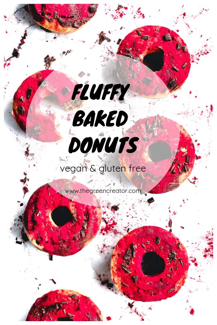 Fluffy Baked Donuts