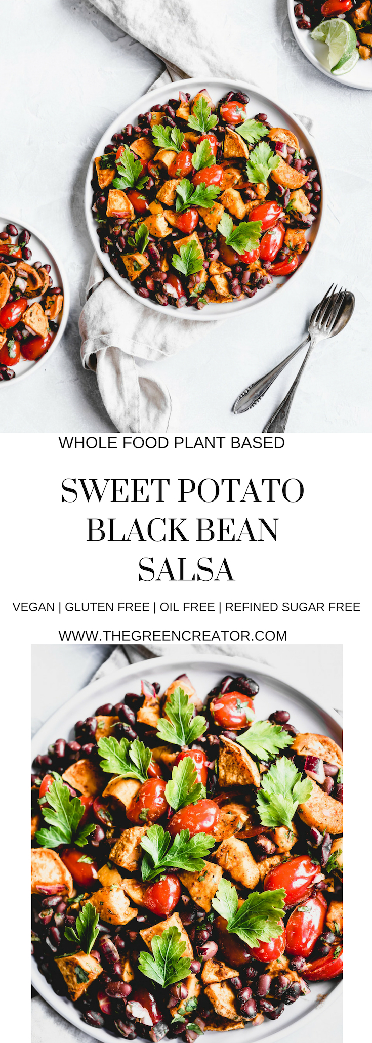 Sweet Potato Black Bean Salsa
