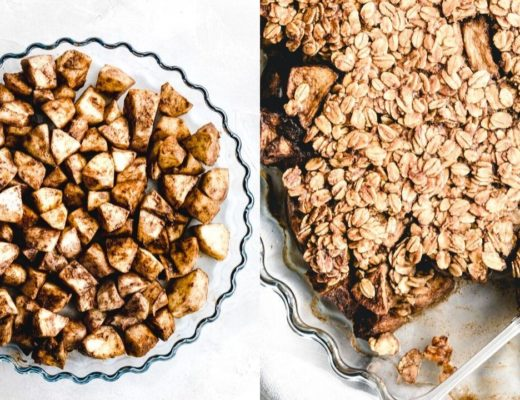 the best vegan apple crisp